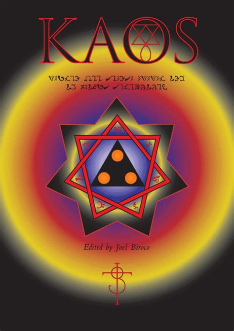 Kaos Comic Book 13 occulta press the occult gateway joel biroco kaos