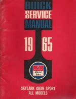 small engine service manuals 1989 buick skylark transmission control 1965 buick service manual skylark gran sport
