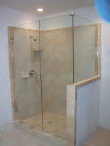 frameless shower glass doors and enclosure for todays