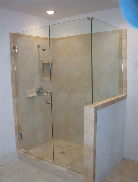 Glass Shower Panels by Frameless Shower Glass Doors And Enclosure For Todays