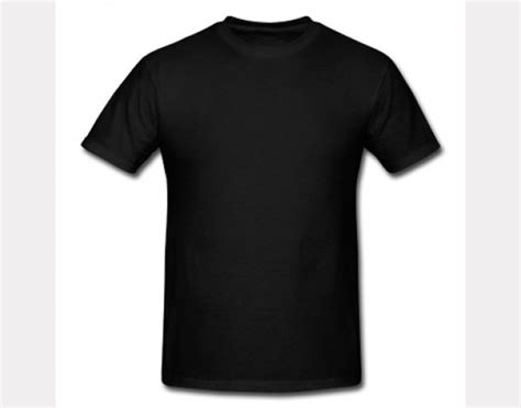 plain blank t shirts black free images at clker com