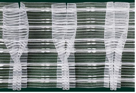 gardinenband zum aufnahen gardinenband faltenband bonbonfalte pokalfalte 150mm wei 223