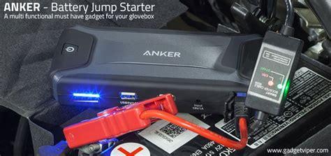 anker jump starter pro anker battery car jump starter and power bank review