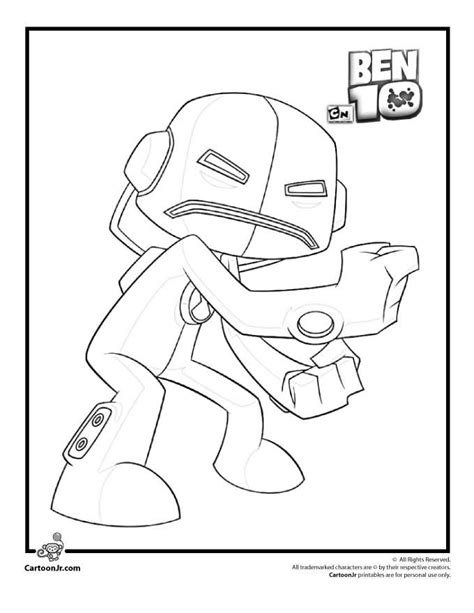 bens coloring pages alphabet free coloring pages of ben10 four arms