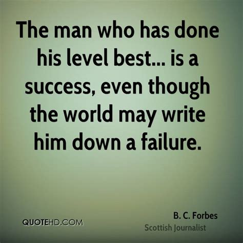 B. C. Forbes Success Quotes | QuoteHD
