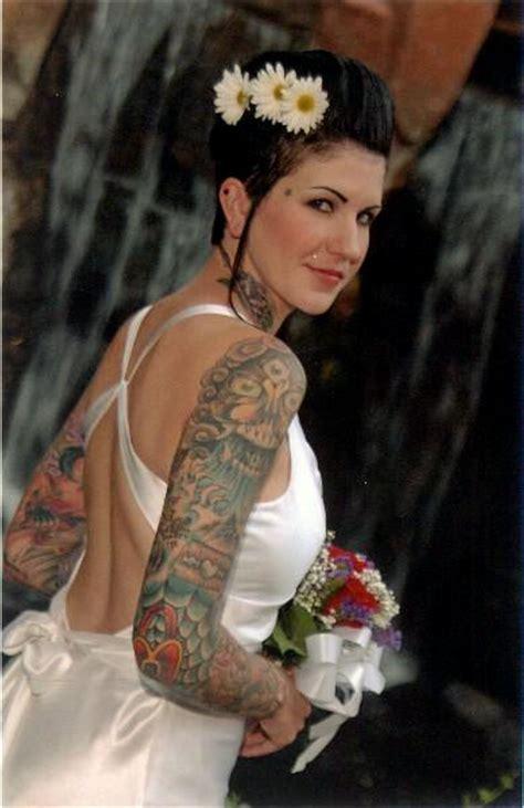 bride tattoo fail fixed even more tattooed brides offbeatbride