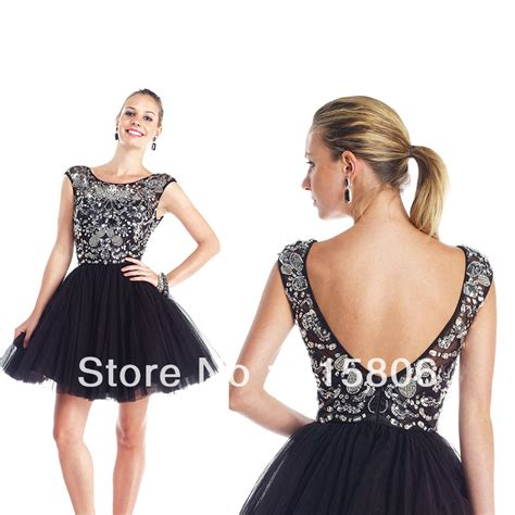 black homecoming dresses with sleeves 2014 homecoming dresses new arrival a line short black