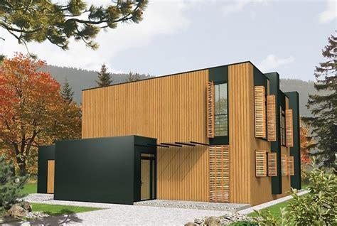 casa madera moderna casa moderna planos planos y casas