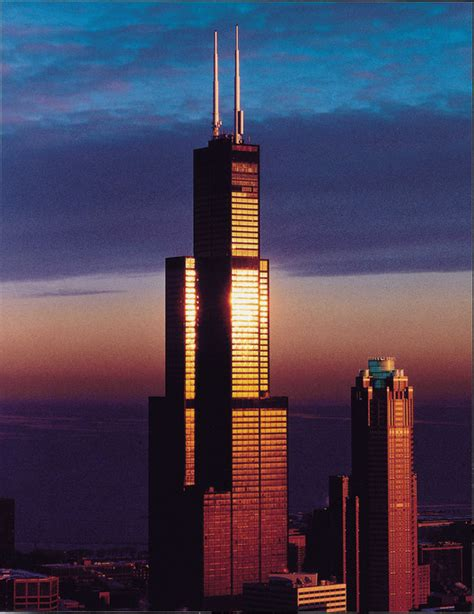 sears tower ad classics willis tower sears tower som archdaily