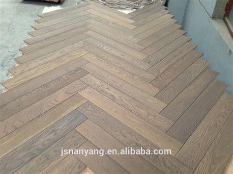 2 layer Grey Oak Parket Wood Flooring   Buy European White