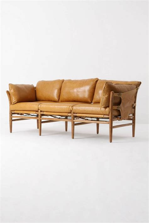 anthropologie leather couch 17 best images about furniture on pinterest hanging beds