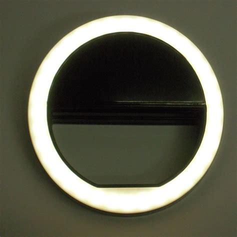 Led Ring Light Selfie portable selfie led ring flash clip fill light for