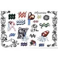 Tattoos zodiaque autocollants poissons