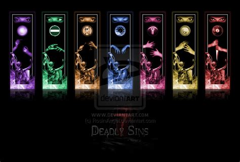 the 7 deadly sins the seven deadly sins of a student