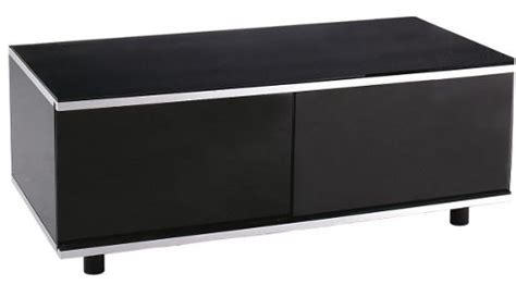 Black Tv Cabinet With Glass Doors Buy Image Av Black Tv Cabinet With Ir Friendly Glass Sliding Doors From Our Tv Stands Units