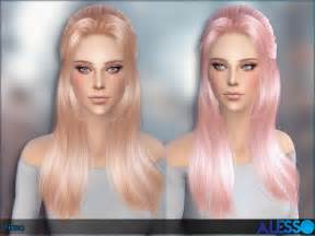 sims 4 hair nana hair by alesso at tsr sims 4 nexus
