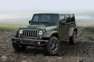 Edition Jeep Jeep Celebrates 75th Birthday With Special Edition Models