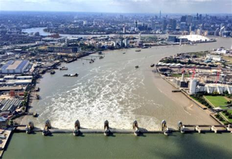 thames barrier burst first snow then floods and now ice warnings are issued