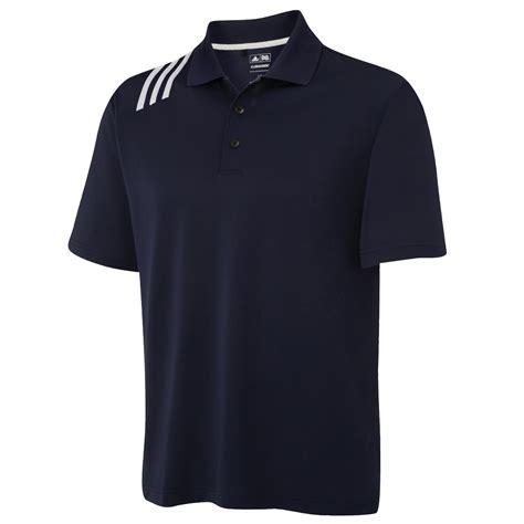 Polo 3strip Adidas adidas golf climacool mens 3 stripe sports solid polo