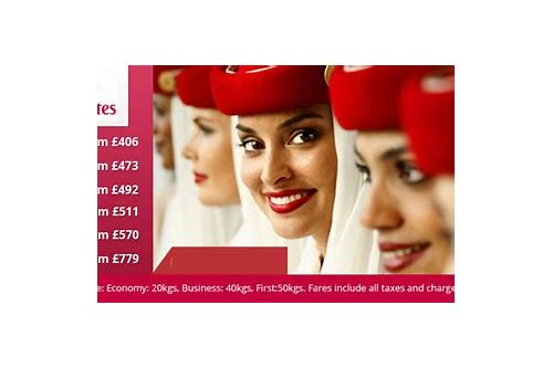 emirates special deals to europe