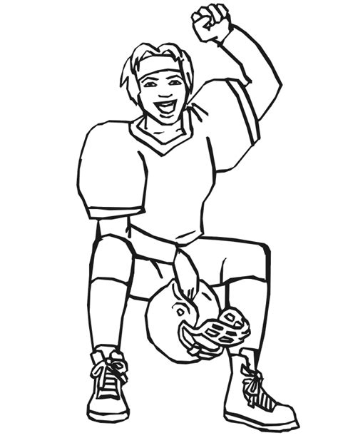 football coach coloring page football player coloring pages az coloring pages