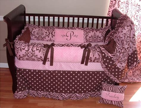 Pink And Brown Polka Dot Baby Bedding Styles Tedx Decors Pink And Brown Polka Dot Crib Bedding