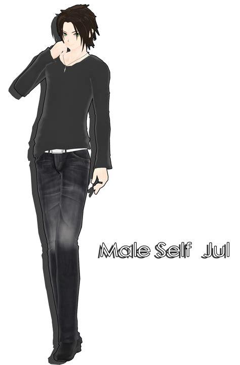 Mmd Tda Male Model | self male jul mmd by deiroko on deviantart