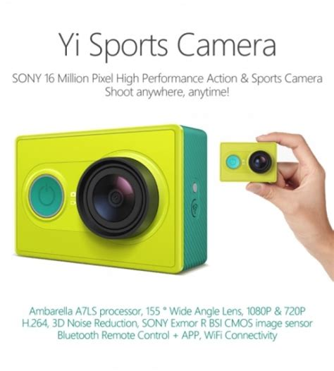 Gopro Xiaomi Second will the xiaomi yi rival the gopro surf