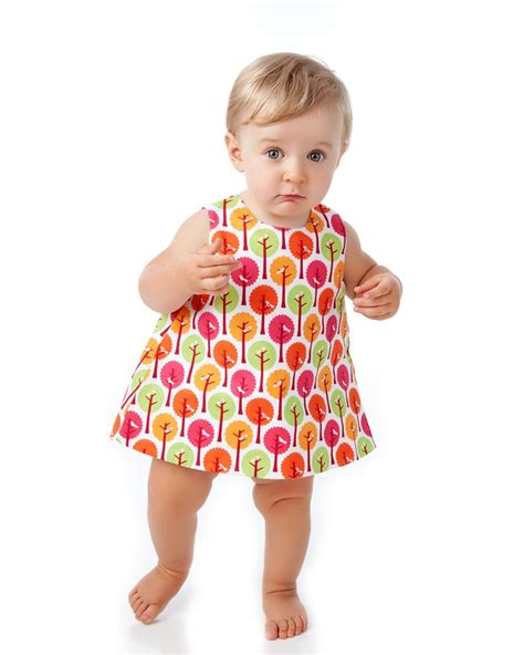 pattern dress child baby pinafore dress pattern with open back easy sewing