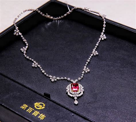 high quality jewelry high quality rubies on display at caibai jewelry cetusnews