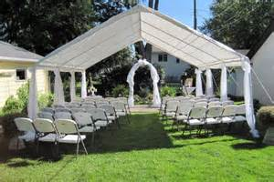 Small Garden Wedding Ideas Small Backyard Weddings On Backyard Wedding Decorations Outdoor Wedding Gazebo And