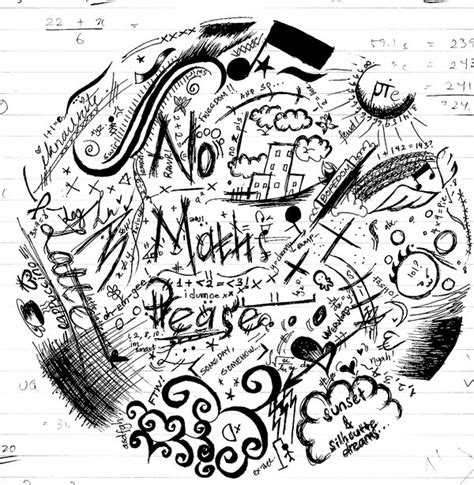 how to doodle in math doodle maths by latte cappuccino on deviantart