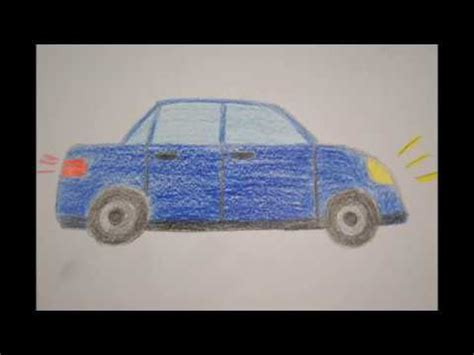 Auto Malen F R Kinder by Auto Zeichnen F 252 R Kinder How To Draw A Car For Children