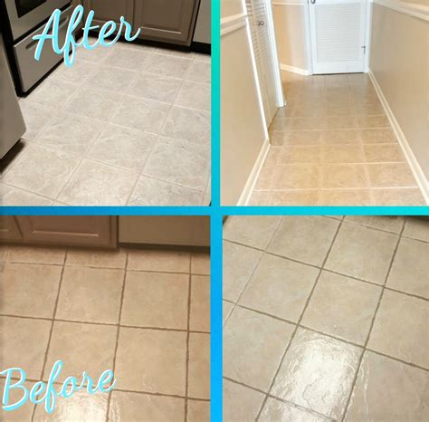 Best Way To Clean Kitchen Floor by Best Kitchen Floor Tile Grout Cleaner Morespoons