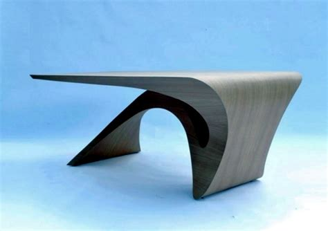 design form follows function futuristic wooden table design of the series form follows