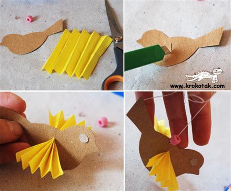 How To Make A Bird Out Of Paper For - krokotak paper bird