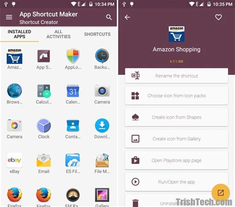 android icon generator create shortcuts on homescreen with app shortcut maker for