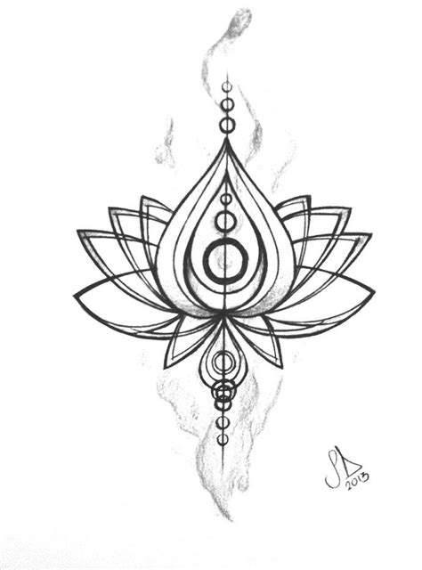 lotus flower tribal tattoo lotus flower design i want something like this