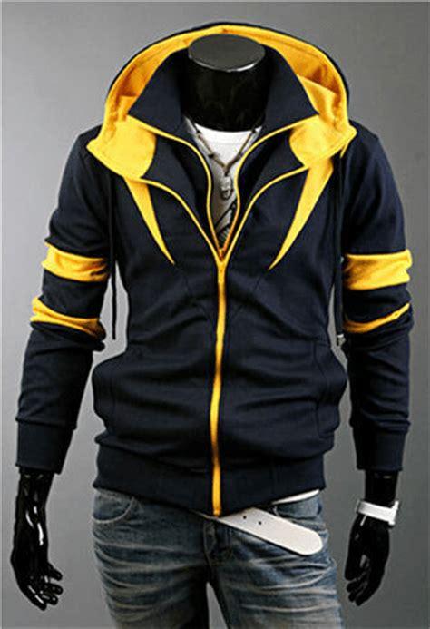 yellow jacket design house gmbh assassin double zipper hoodie edealretail