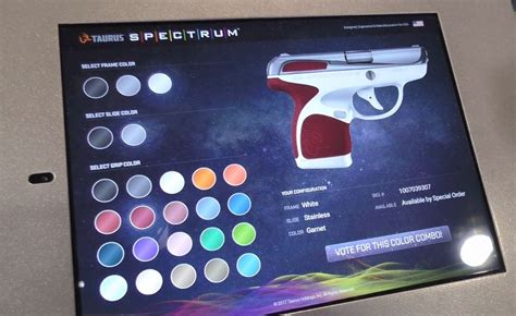 Color Combination 2017 taurus spectrum 380 at shot show 2017 the truth about guns