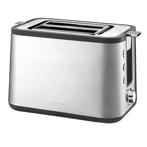 Krups Toaster Krups 2 Slice Stainless Toaster Kh442d50 The Home Depot