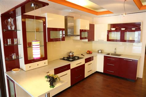 kitchen interior colors top 10 modern indian kitchen interiors interior