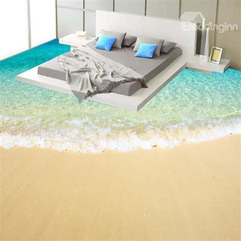 3d floors beach scenery 3d fabric waterproof floor murals
