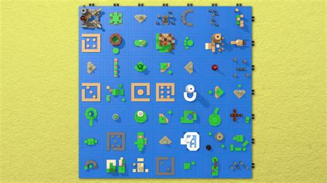 legend of zelda map icon the legend of zelda the wind waker s sea chart as a lego