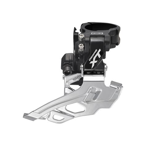conventional swing shimano fd m786 xt 10 speed double front derailleur