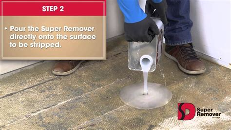 super remover instructions  remove carpet glue youtube