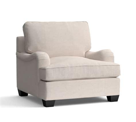 english armchair pb comfort english arm upholstered armchair pottery barn