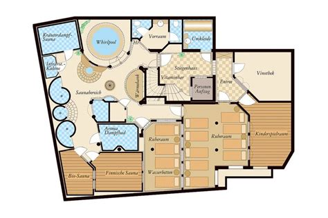 massage spa floor plans hotel in tirol mit sauna hotel alpenjuwel tux