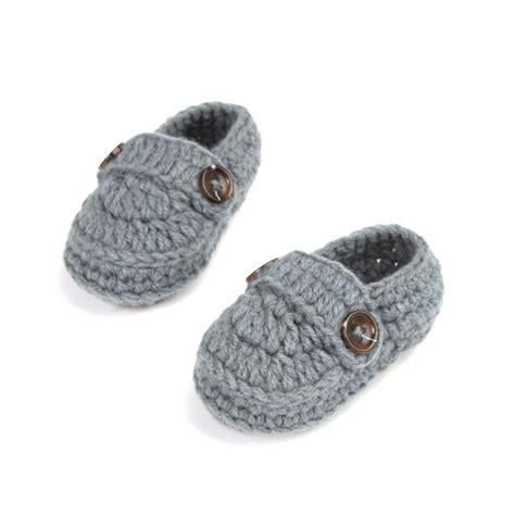 cheap baby slippers fashion buckle baby boy shoes handmade knitting crochet
