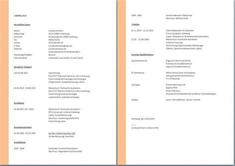 Lebenslauf Alle Seiten Unterschreiben Tabellarischer Lebenslauf Meine Stellenb 246 Rse Bewerberblog